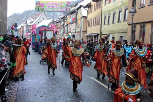 Karneval Wasungen Umzug
